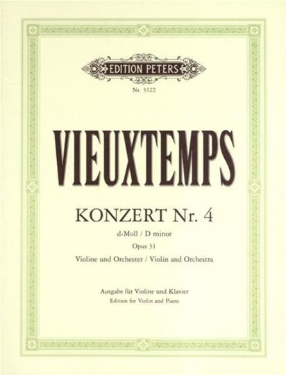 Vieuxtemps, Vioolconcert, Nr. 4 , op. 31