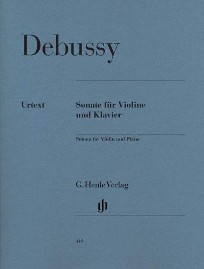 Claude Debussy Sonate voor viool en piano, g-moll