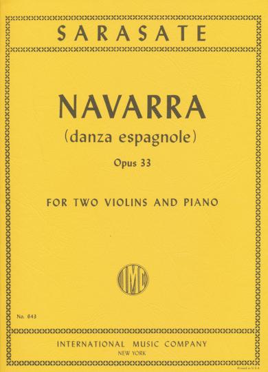Sarasate, Navarra, Opus 33
