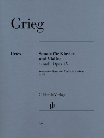 Grieg, vioolsonate, c-moll op. 45