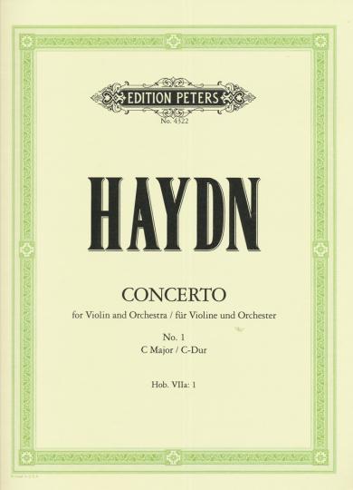 Haydn, Konzert Nr. 1, C-Dur
