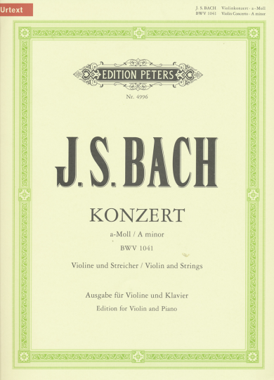 J.S. Bach, Konzert a-Moll, BWV 1041