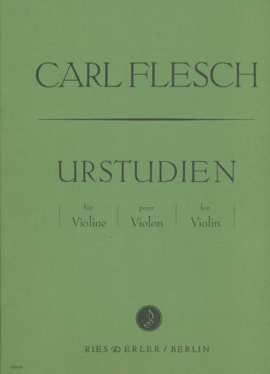 Carl Flesch, Urstudien für Violine
