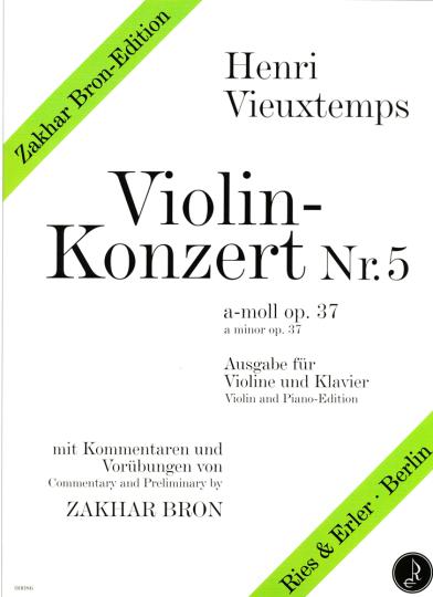 Vieuxtemps, Violinkonzert Nr. 5, a-moll op. 37