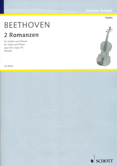 Beethoven, 2 Romanzen, Opus 40 / Opus 50
