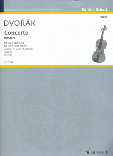 Dvorak, Konzert A-Moll, Opus 53