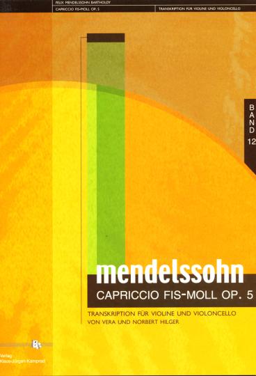 Hilger: F.Mendelssohn Barthold