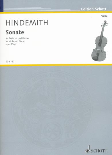 Hindemith, Sonate Opus 25/4