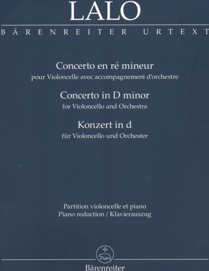 Lalo, Konzert in d
