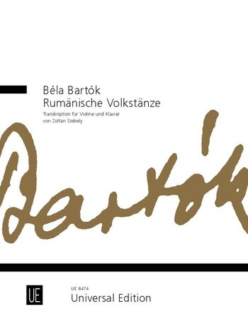 Béla Bartók, Rumänische Volkstänze