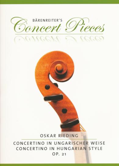 Rieding, Concertino in ungarischer Weise, Opus 21