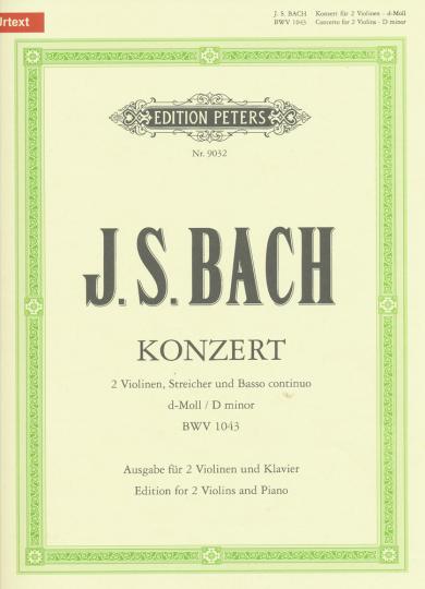 J.S. Bach, Konzert d-Moll, BWV 1043