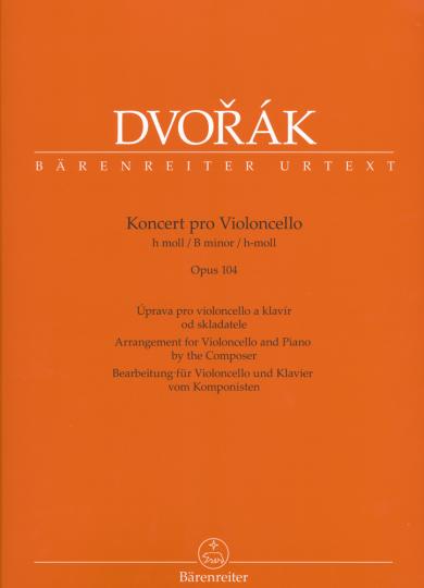 Dvorak, Konzert für Violoncello, h-moll, Opus 104