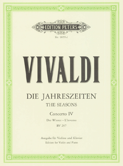 Vivaldi,  Konzert Die Jahreszeiten - Der Winter