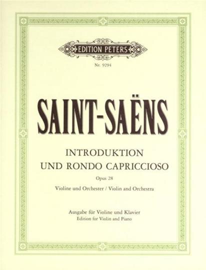 Saint-Saens, Introduktion und Rondo Capriccioso, Opus 28