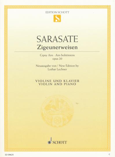 Pablo de Sarasate, Zigeunerweisen op. 20