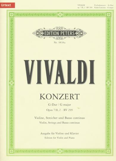Vivaldi, Konzert G-Dur, Opus 7/II,2 - RV 299