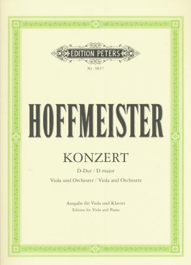 Hoffmeister, Konzert D-Dur