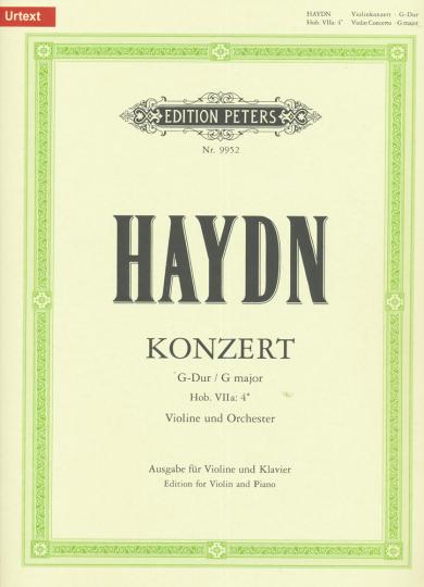 Haydn, Konzert G-Dur, Hob. VIIa:4*