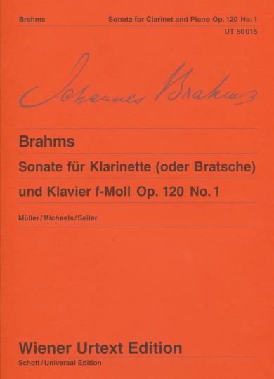 Brahms, Sonate voor altviool en piano Es-Dur op. 120, Nr. 1