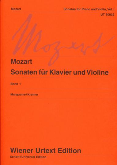 Mozart, Sonaten voor piano en viool