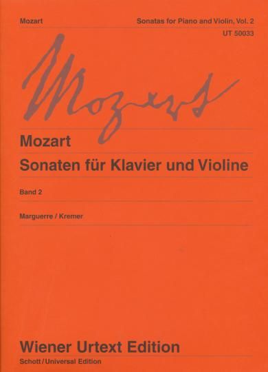 Mozart, Sonaten voor piano en viool , Band 2