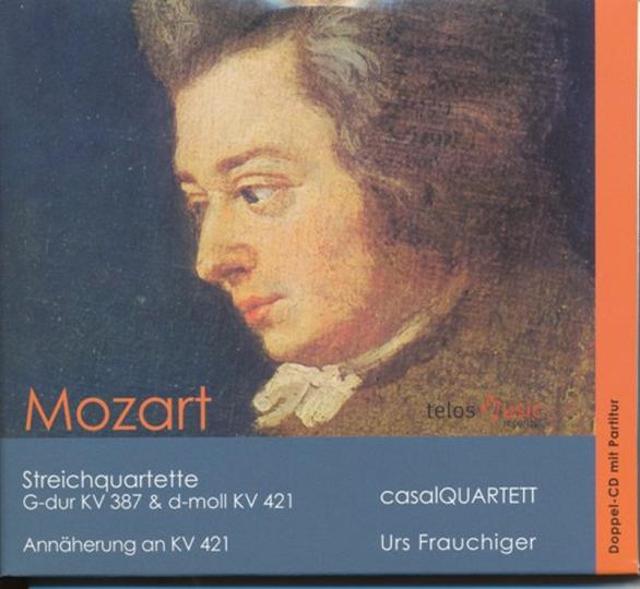 Mozart KV 387 en KV 421