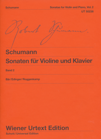 Robert Schumann Violinsonaten