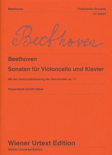 Ludwig van Beethoven Sonaten voor Violoncello en piano