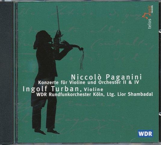 Paganini, concerten voor vioo II & IV -Turban