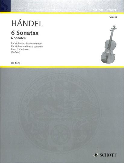 Händel, 6 Sonatas, Band 1