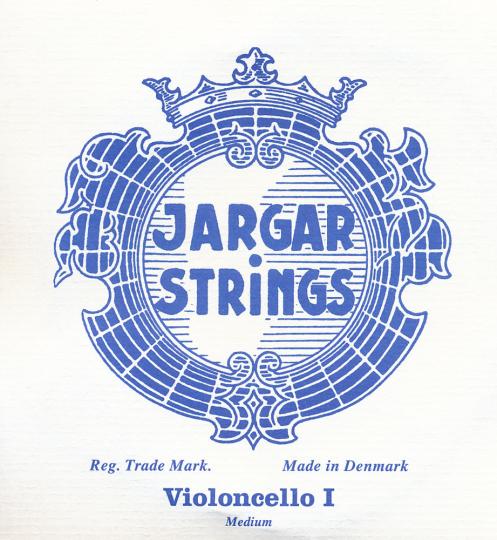 JARGAR A- snaar voor violoncello, chroom medium