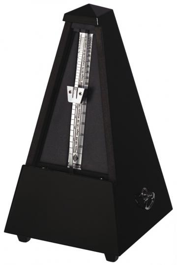 Wittner Metronom Pyramide, zwart hoogglans
