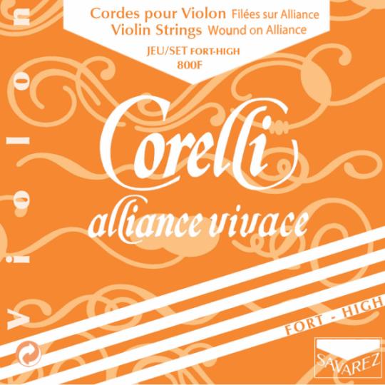 CORELLI Alliance - Set vioolsnaren - E lusje - forte - 4/4