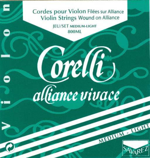 CORELLI Alliance - vioolsnaren - E kogel - med.light - 4/4