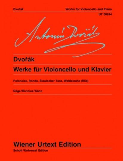 Antonín Dvorák Werken voor Violoncello en piano