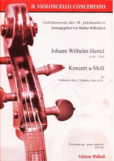 Hertel, Johann Wilhelm (1727- 1789): Konzert a-Moll (1759) - pianouittreksel