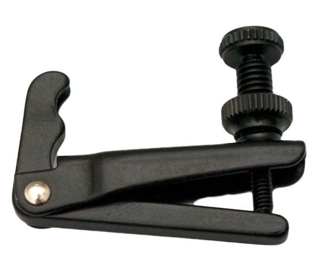 Fix fijnstemmers voor viool, darm en nylonsnaren zwart