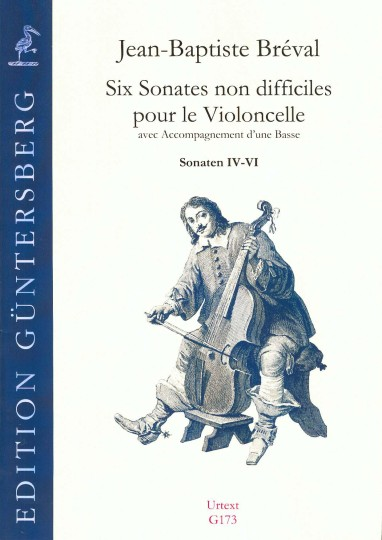 Breval, Jean-Baptiste (1753-1823): Six Sonates non difficiles op. 40 - Sonaten IV-VI
