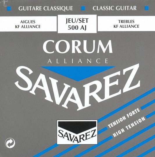 SAVAREZ Corum Alliance Set gitaarsnaren, strong