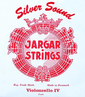 JARGAR C- snaar Silversound voor violoncello, zilver, forte