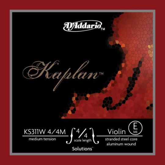D´ADDARIO Kaplan Solution - Vioolsnaren - E snaar - medium
