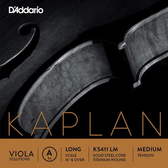 D´ADDARIO Kaplan Solution altviool  A-snaar, medium