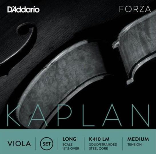 D' Addario Kaplan altviool C-snaar Wolfraam/zilver, medium