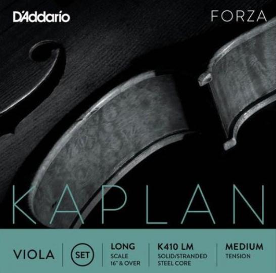 D' Addario Kaplan altviool A-snaar Titanium, medium