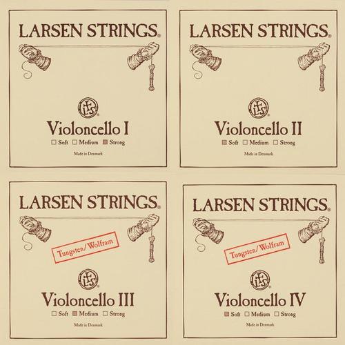 LARSEN VICello Set, strong