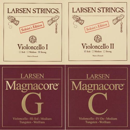 Larsen Soloist / Magnacore Set Cellosnaren, strong