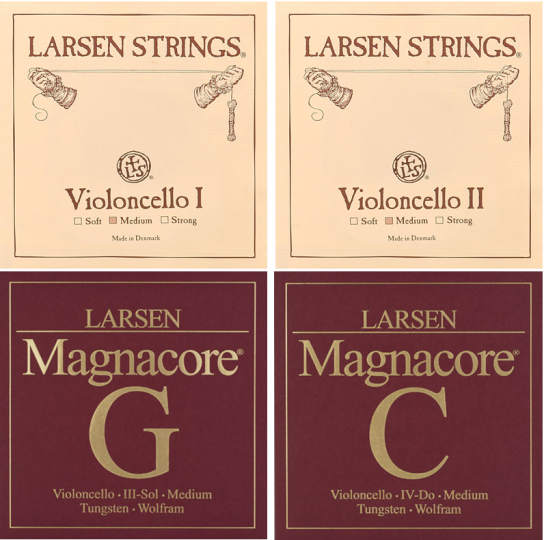 Larsen / Magnacore Set Cellosnaren, medium