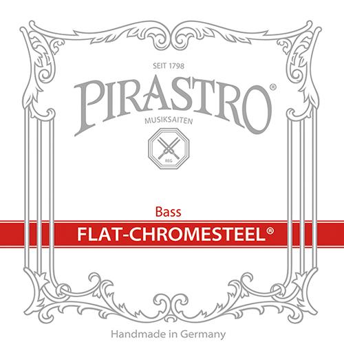 PIRASTRO  Flat-Chromesteel contrabassnaren Set