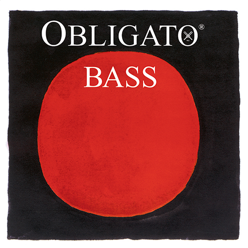 PIRASTRO  Obligato Bass D-snaar zilver, medium